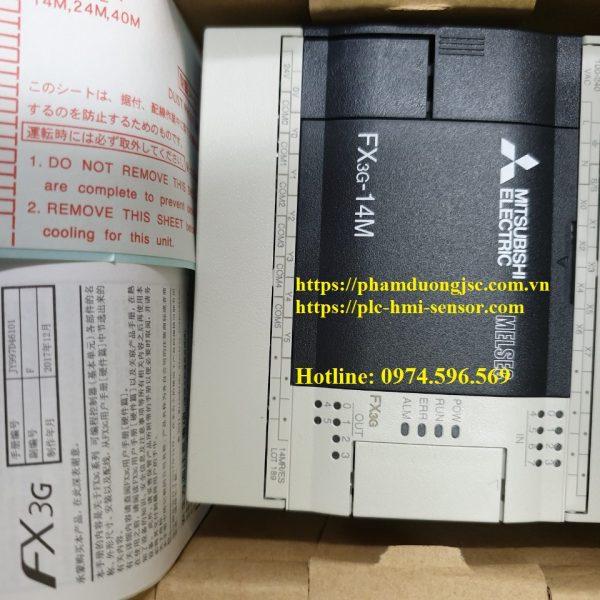 1PLC FX3G-14MR/ES-A